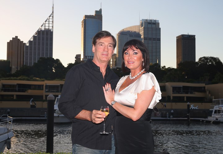 David Oldfield opens up about his split from wife Lisa