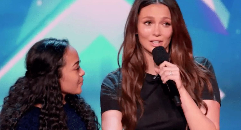 15-year-old girl Olina Loau's Australia's Got Talent