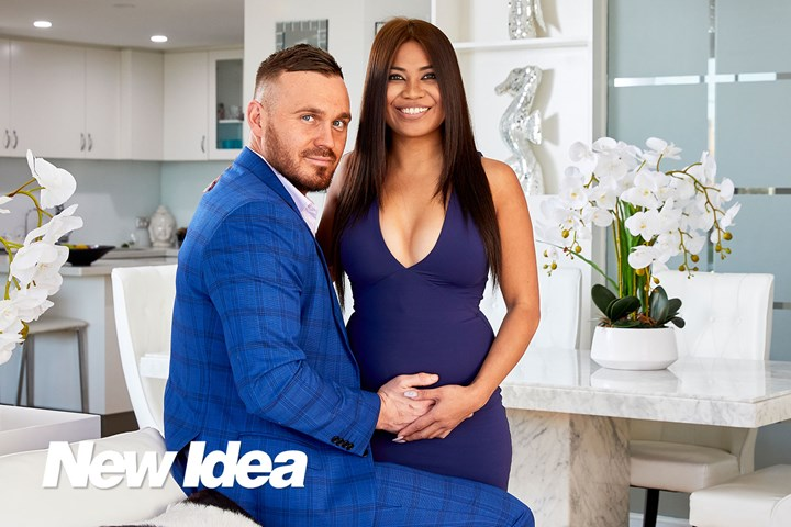 EXCLUSIVE: Married At First Sight's Cyrell Paule and Love Island's Eden Dally are pregnant with their first baby