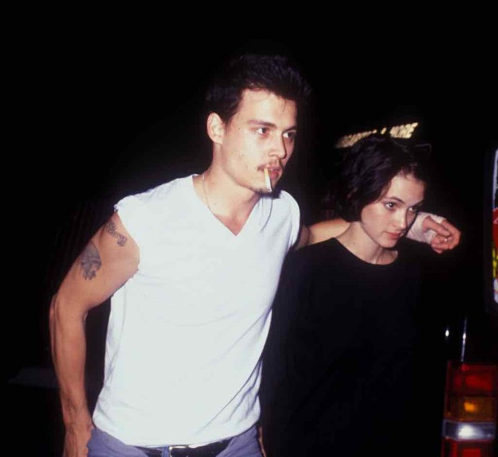 Johnny Depp and Winona Ryder: Back together after 25 years