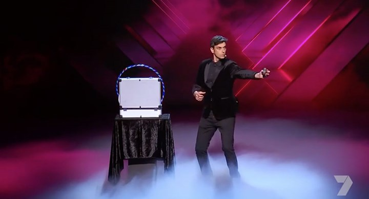 Lioz the magician gets through to the Grand Final on 'Australia's Got Talent'
