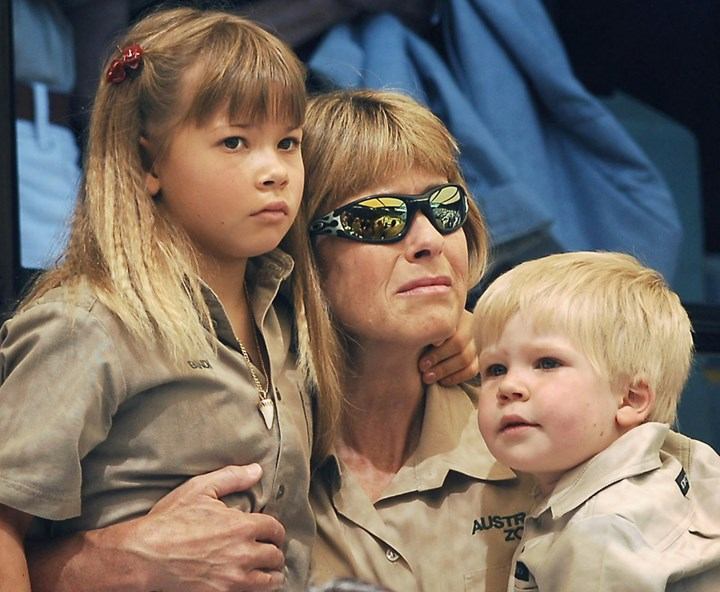 WATCH: Bindi Irwin's heartbreaking tribute to father Steve at his 2006 funeral