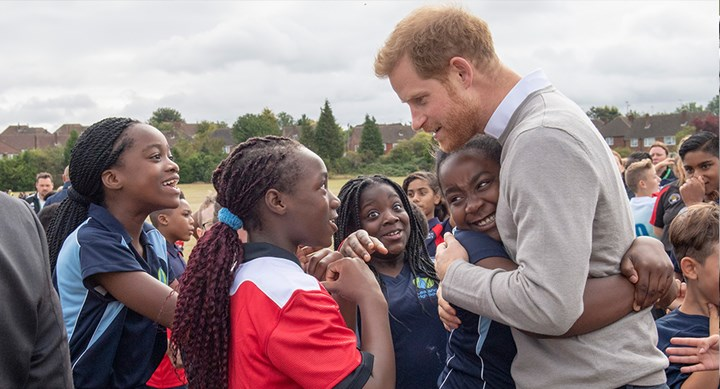 Prince Harry gives update on baby Archie