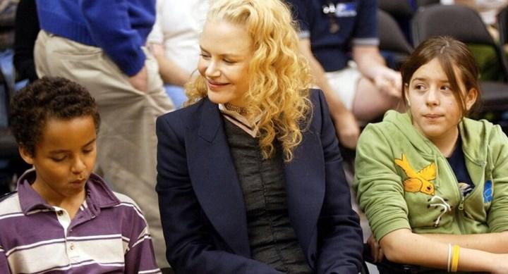 Sad Nicole Kidman admits oldest kids chose Scientology over her