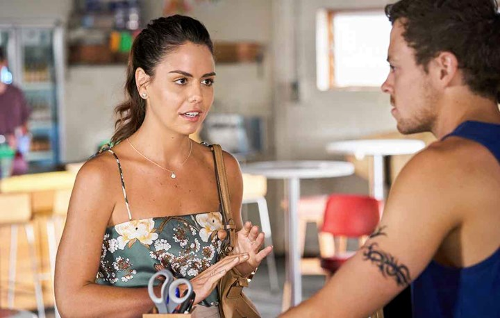 Home and Away: Bella crashes Colby and Mackenzie's relationship
