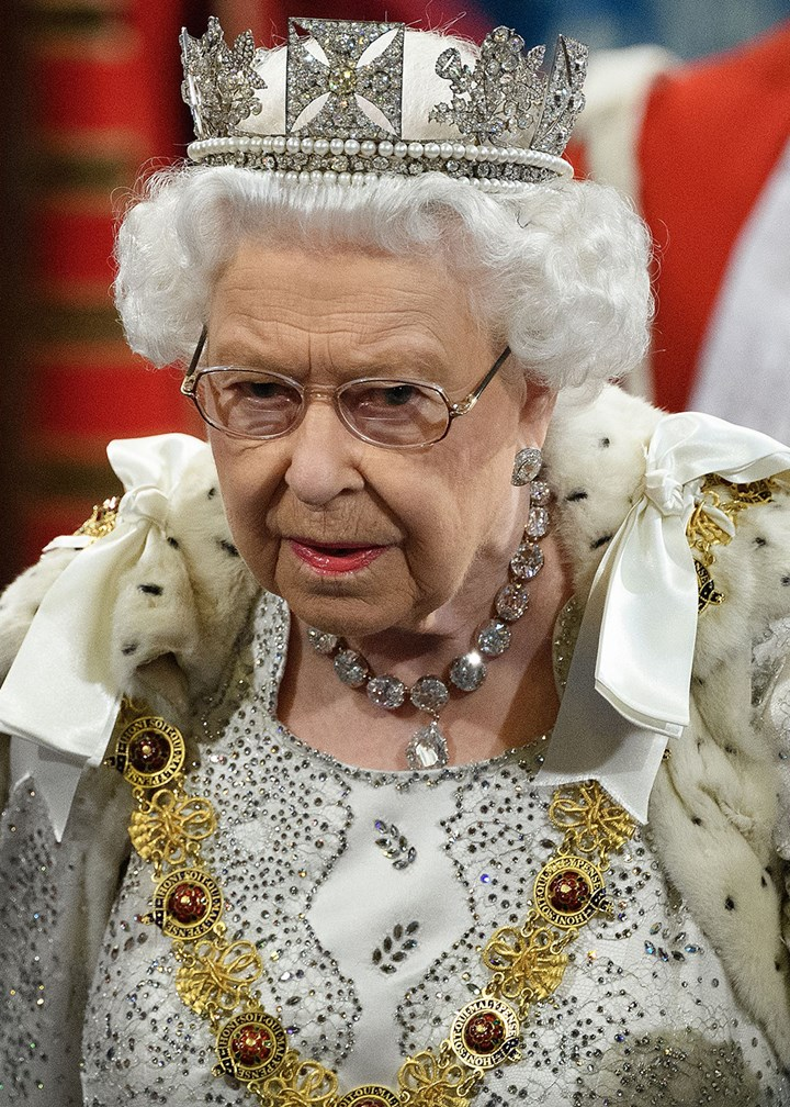 The Queen is 'bloody furious' during rare public moment