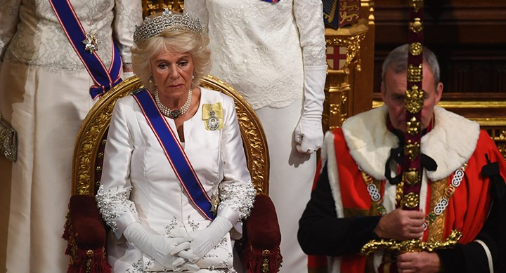 Camilla's shock appearance causes controversy