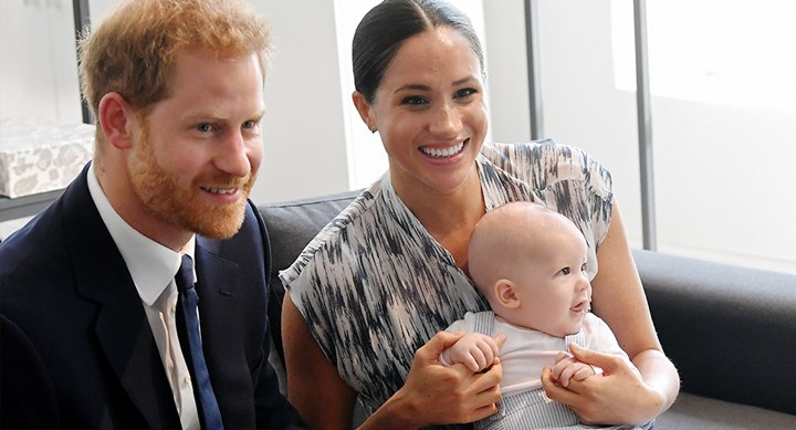 Prince Harry officially confirms Archie's hair colour