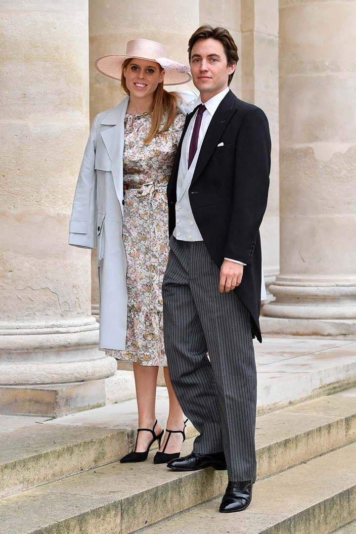 Princess Beatrice and Fiancé Edoardo attend royal wedding