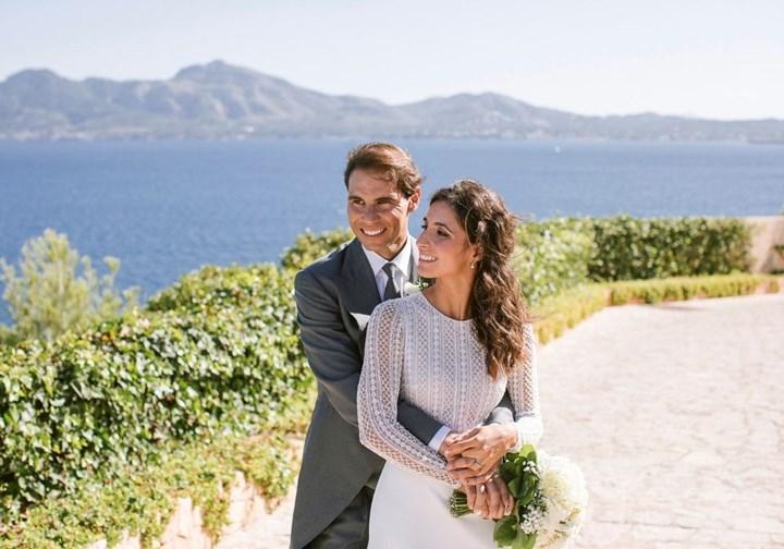 Rafael Nadal just married his childhood sweetheart Mery Perello