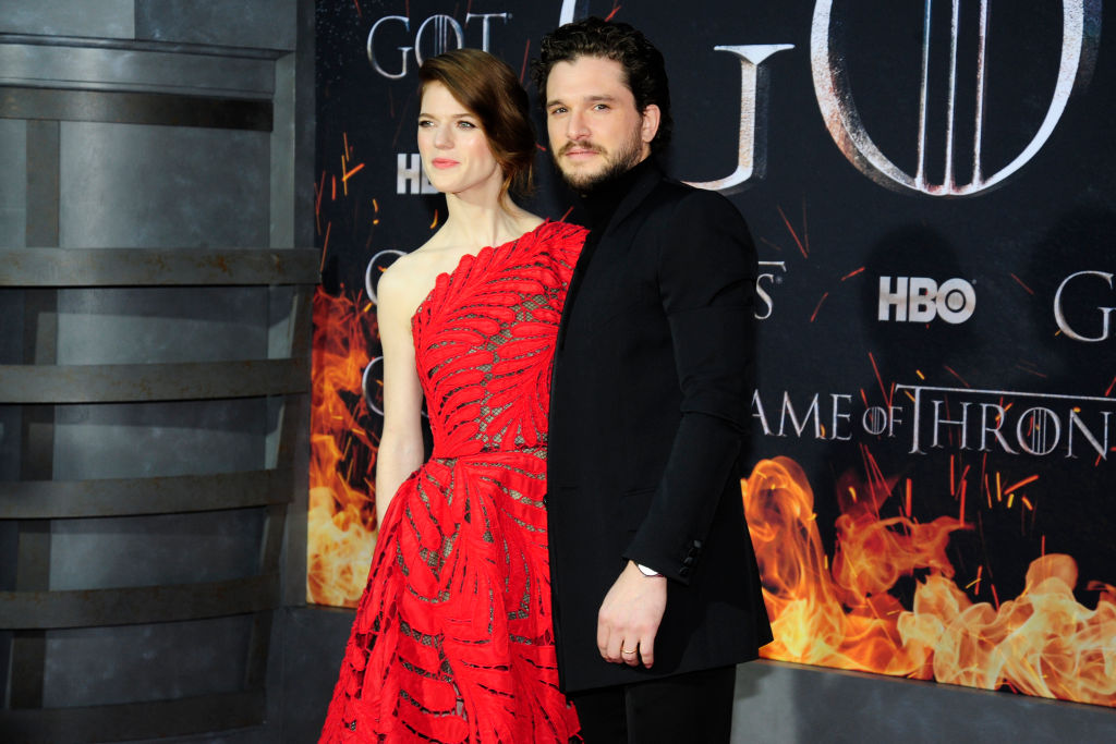 Kit Harington & Rose Leslie: Jon Snow and Ygritte In Real Life