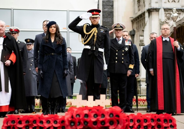 meghan markle and prince harry s remembrance day tribute new idea magazine meghan markle and prince harry s