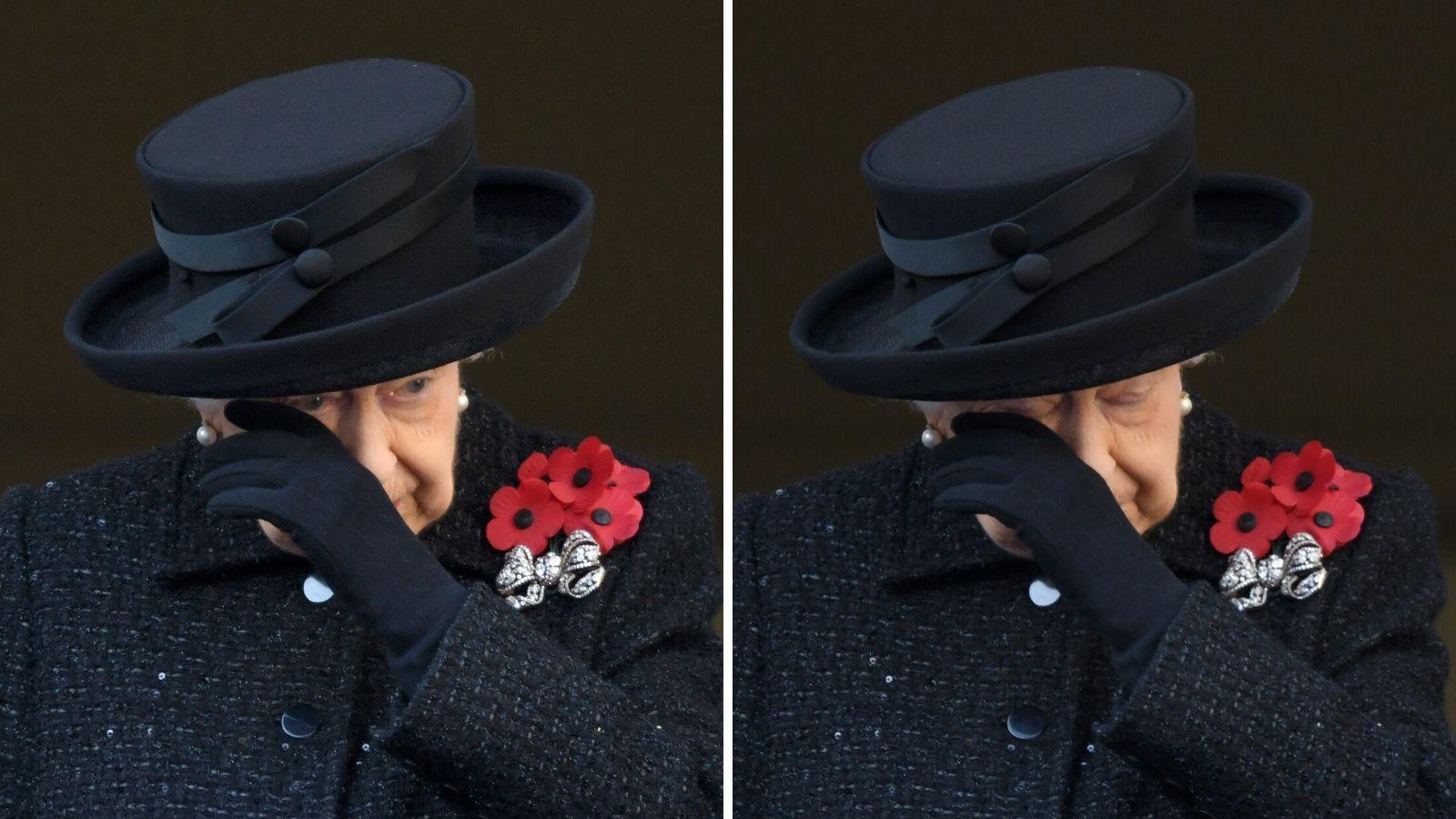 نتيجة بحث الصور عن Queen Elizabeth + red flower