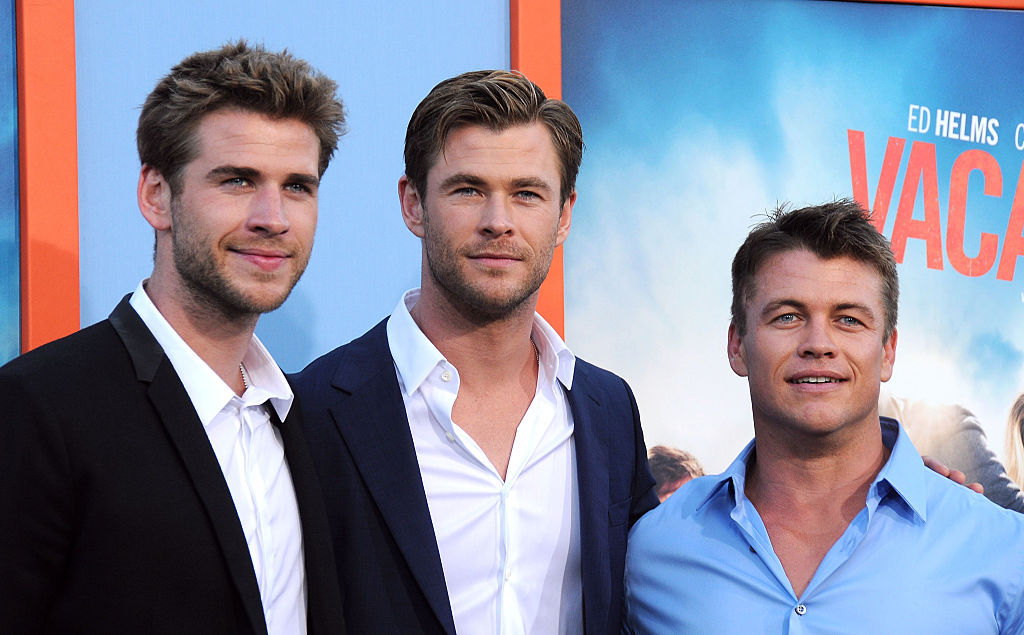 Hemsworth Brothers: Chris, Liam & Luke