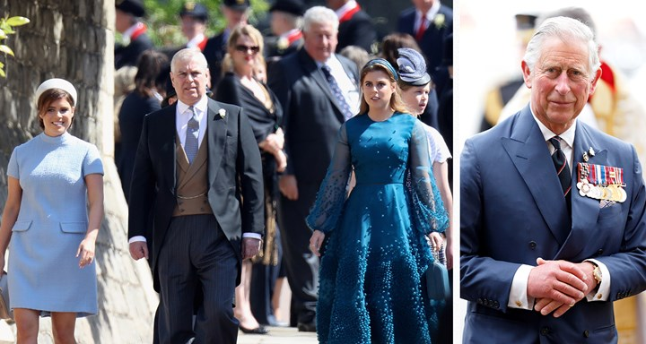 Prince Andrew Fears Prince Charles Is Coming For His Daughters