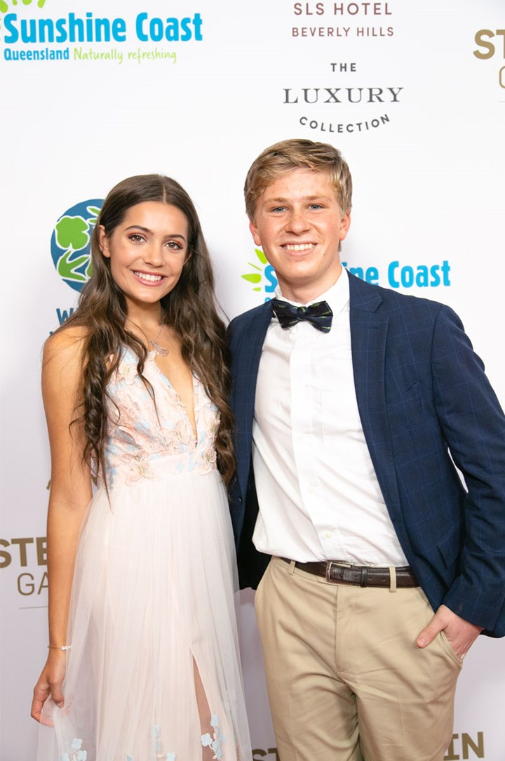 Robert Irwin's joy: 16 and in love