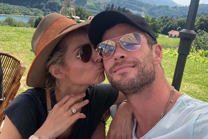 Chris Hemsworth and Elsa Pataky show inside their mansion