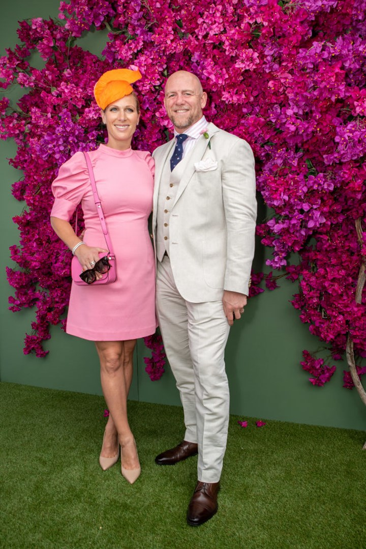 Zara Tindall puts on a brave face with husband Mike in the GC amid royal family drama