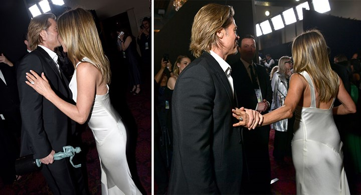 """Brad Pitt and Jennifer Aniston first interview: """"The moment he won me back!"""""""