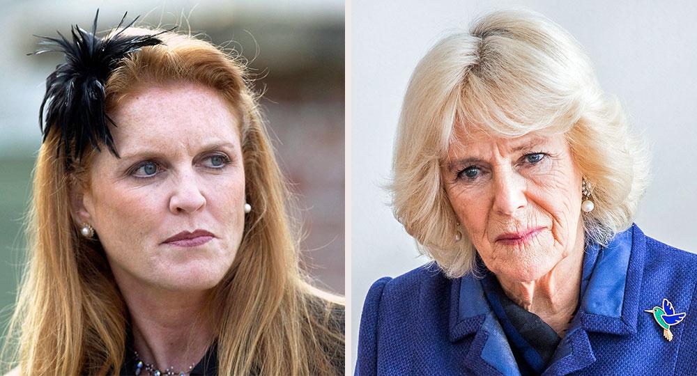 Camilla's new feud with Sarah Ferguson explodes