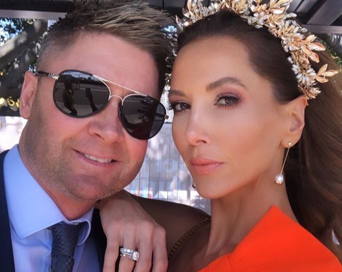 Michael Clarke and wife Kyly have split