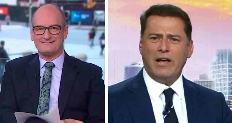 David Koch takes a stab at Karl Stefanovic amid Nine star's TV humiliation