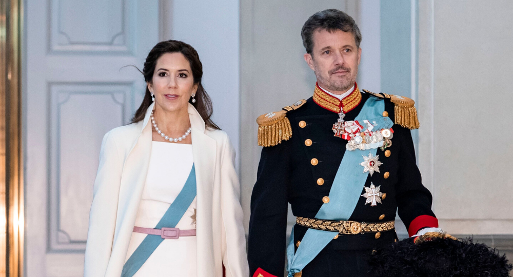 Princess Mary and Prince Frederik take the Danish throne