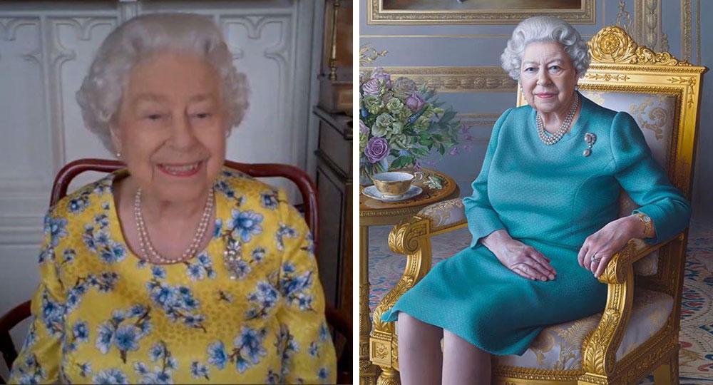 'Sacrilege!' Fans criticise new portrait of the Queen