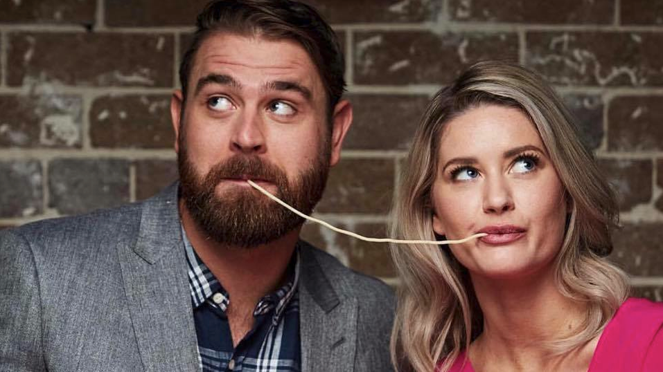 Cooking up a very steamy romance! My Kitchen Rules' Tim and Amy seemingly confirm they are dating after stepping out together in Brisbane
