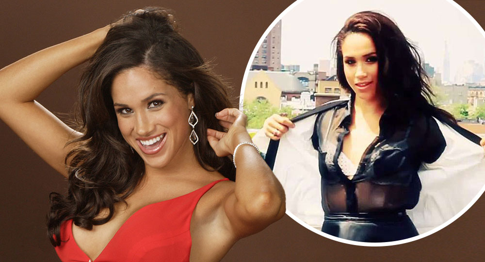 Meghan Markle's raunchy video LEAKED!