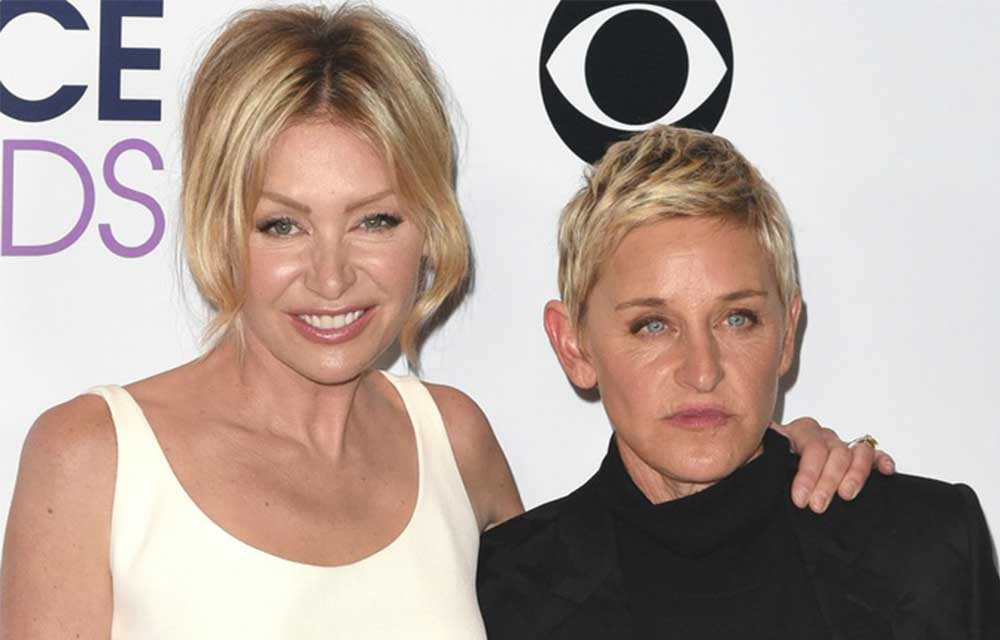 Ellen & Portia: Public blow-up over Ellen's ex | New Idea