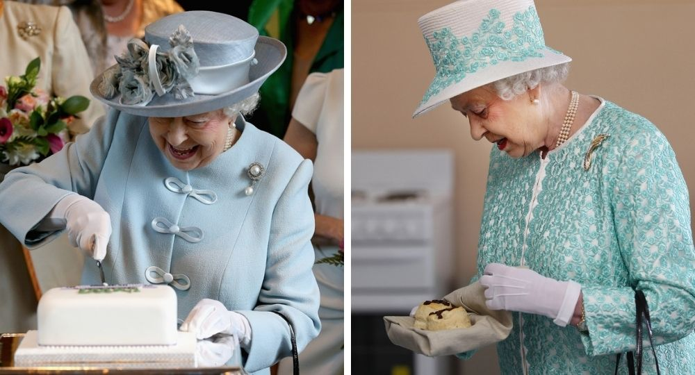 This is what the queen eats in a day