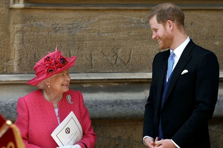 The Queen Prince Harry