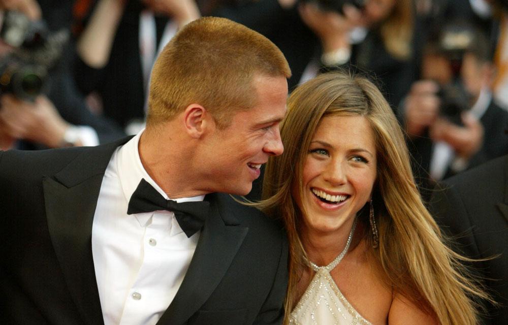 Brad Pitt and Jennifer Aniston reunite with a wedding a baby | New ...