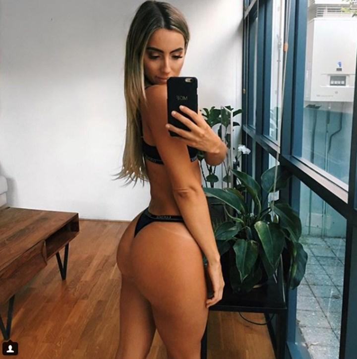 female bubble butt
