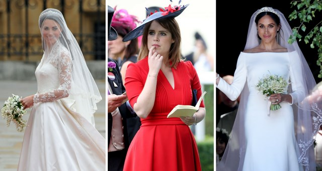 Princess Kate Wedding Dress.How Princess Eugenie S Wedding Dress Will Compare To Meghan Markle S