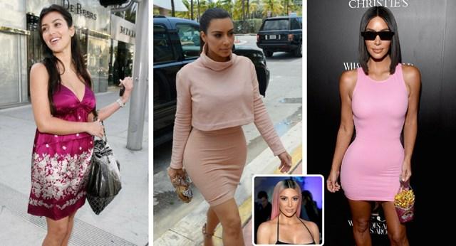 12 Times Kim Kardashian Has Been Eye Popping In Pink New Idea Magazine