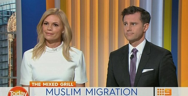 TV star Sonia Kruger calls for Muslim immigration ban