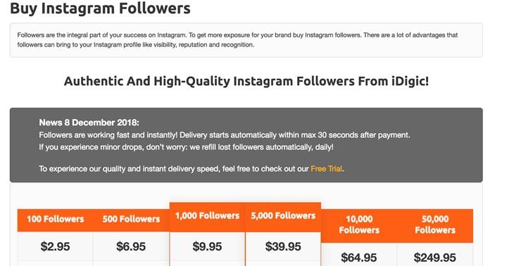 Buy Instagram Followers: How to Buy Instagram Fans & Likes | New