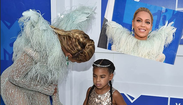 Beyonce's big VMAs moment with Blue Ivy