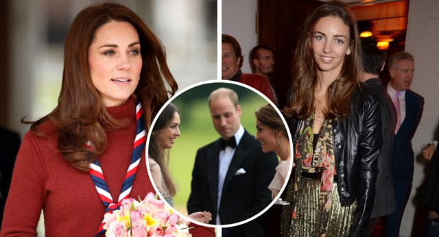 Rumours about Prince William and Kate Middleton's ex friend Rose