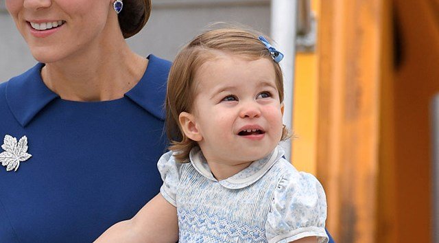 Princess Charlotte steals the show