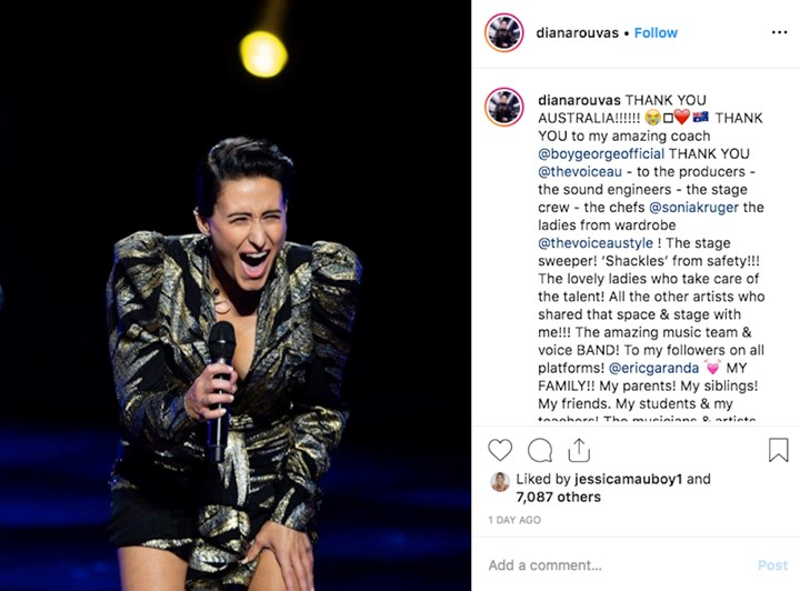 The Voice winner Diana Rouvas: My secret relationship with Keith Urban