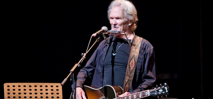Music legend Kris Kristofferson on tour