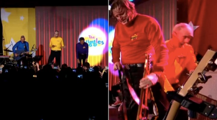 WATCH: Terrifying moment Yellow Wiggle Greg Page suffers cardiac arrest on stage