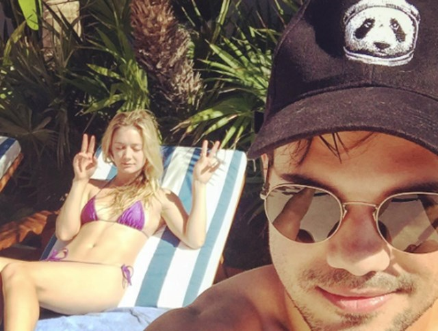 Billie Lourd takes a relaxing break in Mexico with boyfriend Taylor